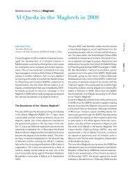 Al-Qaeda in the Maghreb in 2008, Jean-Pierre Filiu - IEMed