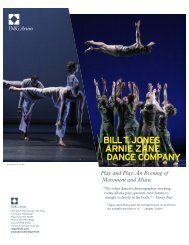 Play and Play: An Evening of Movement and Music - New York Live ...