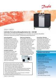 DSA 1 MIDI Indirekte Fernwärmeübergabestation bis ~250 kW