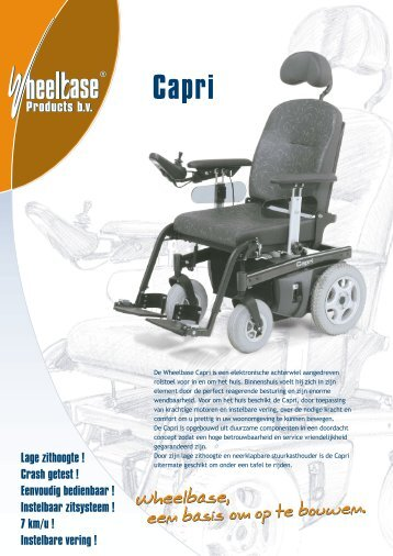 Capri Products bv Products bv - RSR