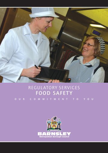Regulatory Services - Food Safety - Barnsley Council Online