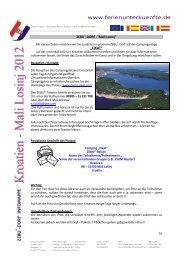 IM – Kroatien 2012 Teil 2 - Ev. Kreisjugenddienst Norden