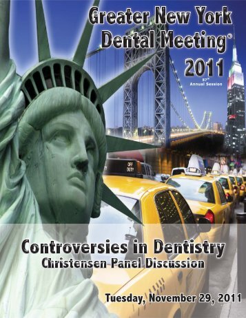 Tuesday, November 29, 2011 - Greater New York Dental Meeting