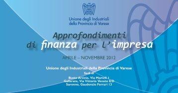 Doc Invito.indd - Unione degli Industriali della provincia di Varese