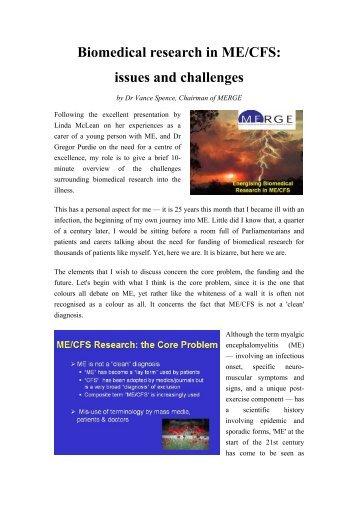 Download a pdf version (287 KB) - ME Research UK