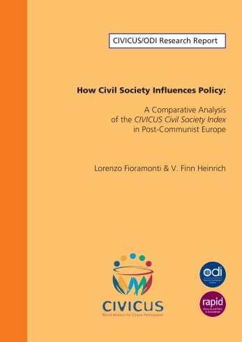How Civil Society Influences Policy: A Comparative Analysis of the ...