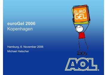 euroGel 2006 Kopenhagen - uxHH