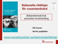 Beteendemedicinsk prevention och behandling