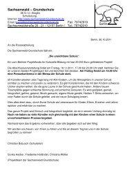 Pressemitteilung - Berliner Projektfonds Kulturelle Bildung