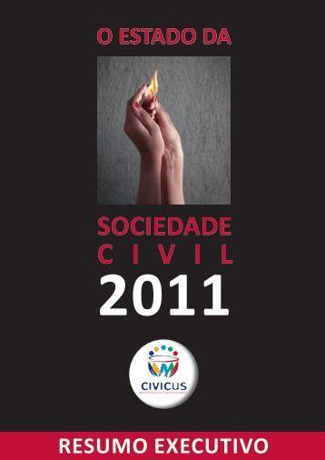 O Estado da Sociedade Civil 2011 - Civicus