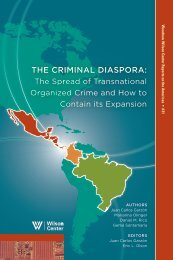the criminal diaspora - Woodrow Wilson International Center for ...