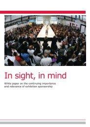 In sight, in mind - Event Hub