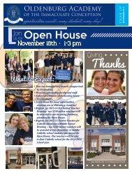 November 2012 - Oldenburg Academy