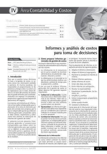 IV - Revista Actualidad Empresarial
