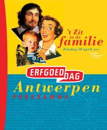 Programmabrochure pagina's 1-12 - Erfgoedcel Antwerpen