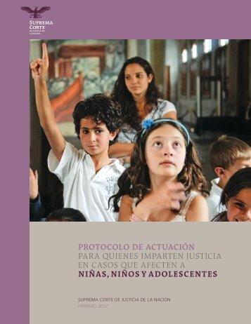 Protocolo de Actuación para quienes imparten justicia a niños niñas y adolescentes 2012_v2