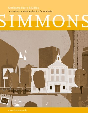 International Student Application (PDF) - Simmons College