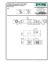 (Zwischenplatte) in B nach T IZ-670-250-00 - IMAV-Hydraulik  GmbH