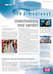 Underholdning med værdier - Tv2