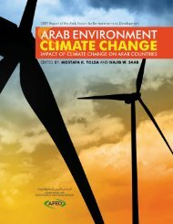 Impact of Climate Change on Arab Countries - (IPCC) - Working ...