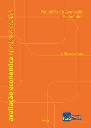 Relatório de Avaliação Econômica - Fundação Itaú Social