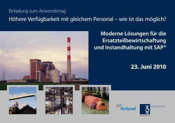 23. Juni 2010 - IGH Infotec AG