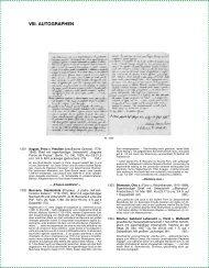VIII. AUTOGRAPHEN - Reiss & Sohn oHG