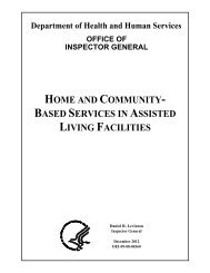 Home and Community-Based Services in Assisted Living Facilities ...