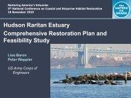 Comprehensive Restoration Plan - Restore America's Estuaries