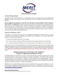 Hiring Manager Letter - Future Achievement International