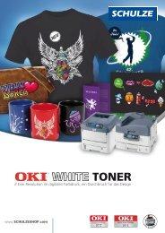 OKI White Toner - Walter Schulze GmbH