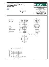zawór 2/2 spustowy ręczny zawór wkręcany CD-110-101-00