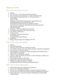 Diakrisis Archiv 1997 - Institut Diakrisis