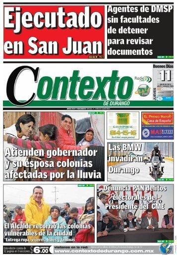 11/07/2013 - Contexto de Durango