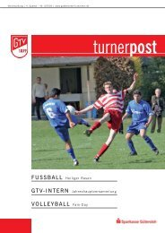 Turnerpost 4 2005 2 - Gütersloher Turnverein von 1879 eV