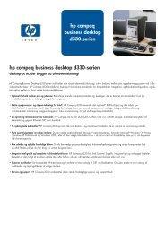 HP business desktop d330