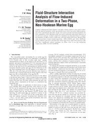 Fluid-Structure Interaction Analysis of Flow-Induced Deformation in ...