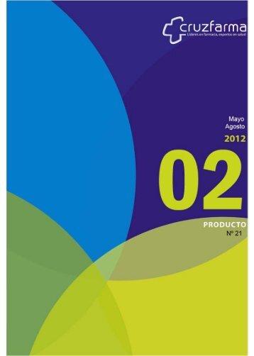 Catalogo General CRUZFARMA Mayo-Agosto 2012 - Guifarco