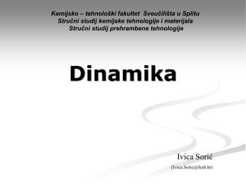 Dinamika - FESB