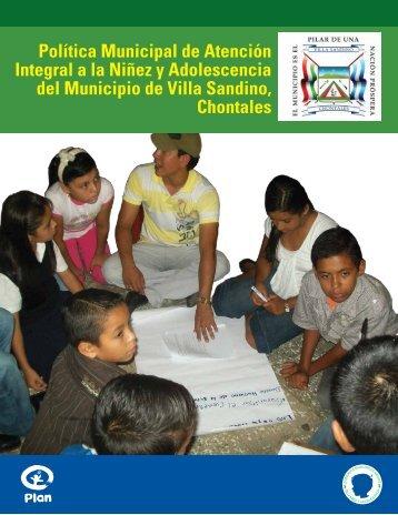 Política Municipal de Atención Integral a la Niñez y ... - Sidoc