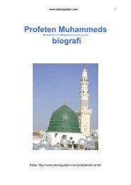 Profeten Muhammeds biografi - Islamguiden