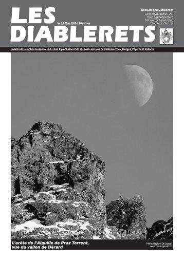 Mars 2010 - Club Alpin Suisse - Section des Diablerets