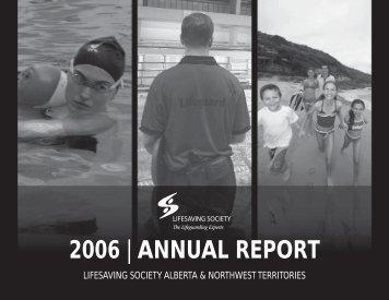 2006 | ANNUAL REPORT - Lifesaving Society