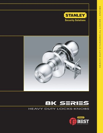 heavy duty locks-knobs - Best Access Systems