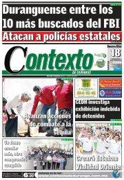 18/06/2013 - Contexto de Durango