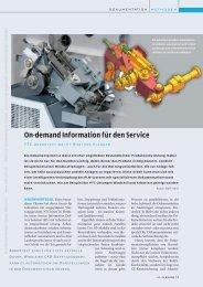 On-demand Information für den Service (716 KB) - K Magazin