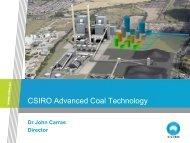 CSIRO Advanced Coal Technology