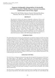 Sequence-stratigraphic interpretation of structurally controlled ...