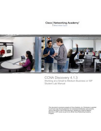 ccna discovery server live cd v2 0 rh yumpu com Discovery Laboratories Warrington PA Discovery Labs Surfaxin