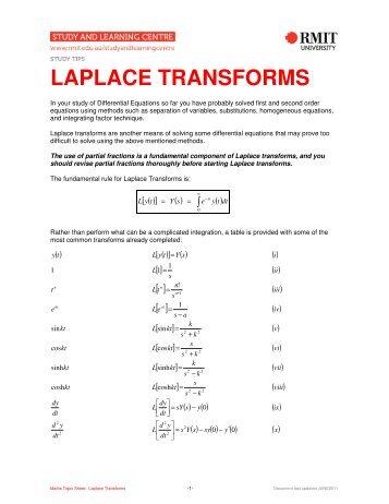 Laplace pdf